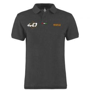 40TH Short sleeves polo