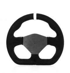 CALAFAT 250MM SUEDE STEERING WHEEL
