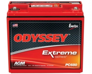 ODYSSEY EXTREME RACING 25 BATTERY