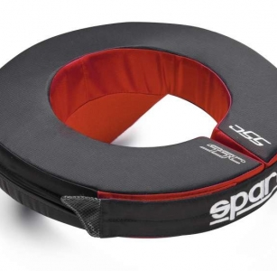 NECK SUPPORT COLLAR RED BLACK