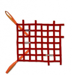 WINDOW NETS FIA APPROVED RED
