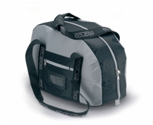 HELMET BAG GREY BLACK