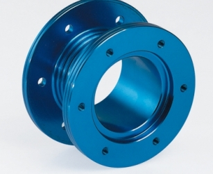 STEERING WHEELS SPACER BLUE