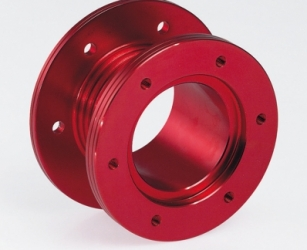 STEERING WHEELS SPACER RED