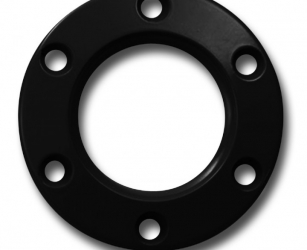 RING FOR STEERING WHEEL BLACK