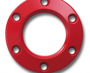 RING FOR STEERING WHEEL RED
