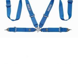 4 POINT HARNESS BLUE