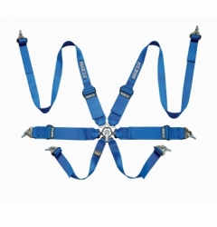 6 POINT HARNESS BLUE