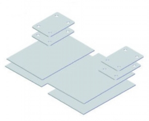 REINFORCEMENT PLATES + COUNTERPLATES FIA